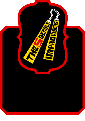 The Five Deadly Improvisers logo